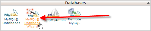 click-on-mysql-database-wizard