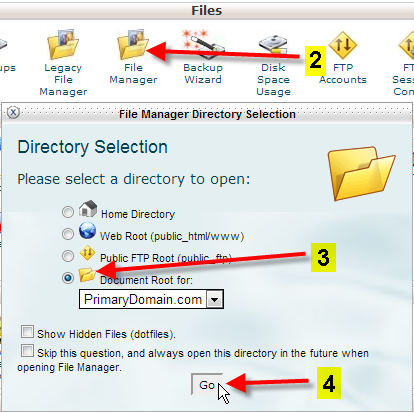 cpanel-file-manager-go-to-document-root