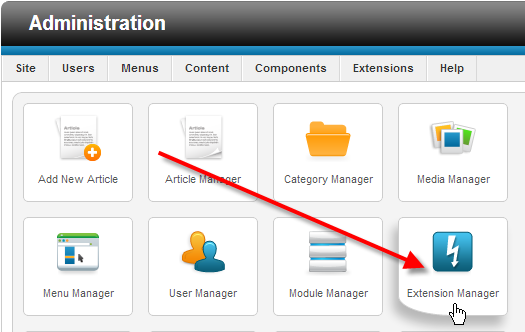 click-on-extension-manager
